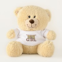 TOP Bodybuilding Girl Teddy Bear
