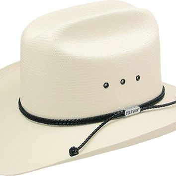 ce7cac6453e Carson 10X Straw Cowboy Hat by Stetson
