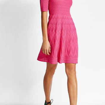 Knit Dress with Cotton - M Missoni | WOMEN | US STYLEBOP.COM