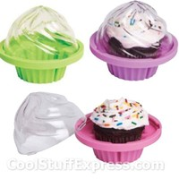 Cupcake-To-Go - Single Cupcake Storage Container