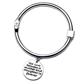 The Love Between Mother and Daughter Bangle