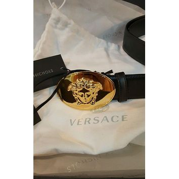 versace belt gold medusa belt 90/36