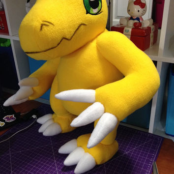 Digimon - Agumon custom plush - to be made - LIFE SIZE