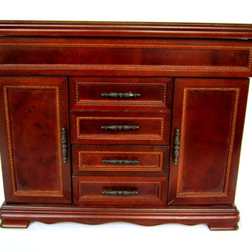 Wood Jewelry Box Large Jewelry Chest