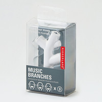 Kikkerland Branch Headphone Splitter, White