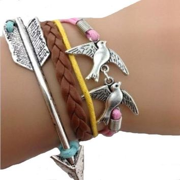 Soaring Forward Bird Bracelet