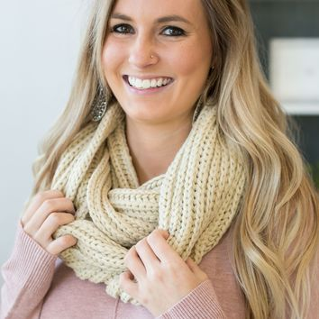 Braided Infinity Scarf - Multiple Options