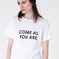 The Come As You Are Tee