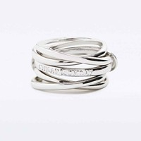 Cheap Monday Ringring Rings in Silver - Urban Outfitters