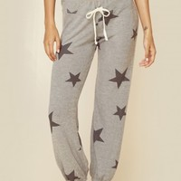 STAR PATTERN SWEAT PANTS