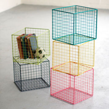 Cubic Wire Basket