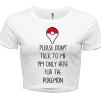 Pokemon Go Crop Top