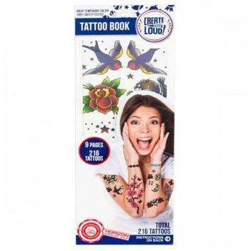 ONETOW Temporary Tattoo Book