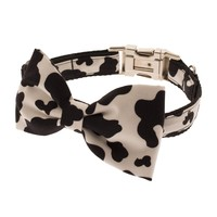 Mad Cow Dog Collar