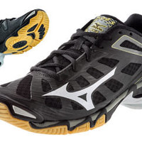 Midwest Volleyball Warehouse - Women's Mizuno Wave Lightning RX3 Shoe - Black/silver