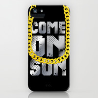 come on son iPhone & iPod Case by studiomarshallarts