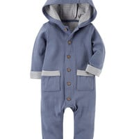 Hooded Babysoft Coveralls