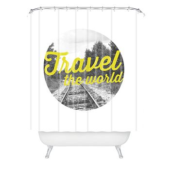 Allyson Johnson Travel The World Shower Curtain