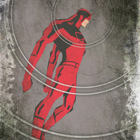 Daredevil: Man Without Fear Art Print by Schnydz