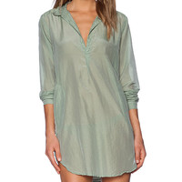 CP SHADES Teton Tunic in Green