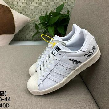 Adidas Original SUPERSTAR NBHD Men Women Fashion Casual Skate Shoes