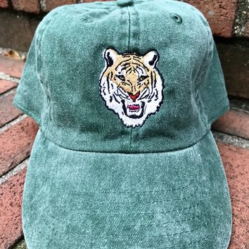 Washed Green Tiger Hat