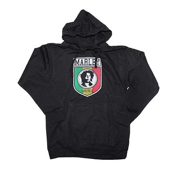 Bob Marley Kingston Shield Pullover Hoodie Sweatshirt