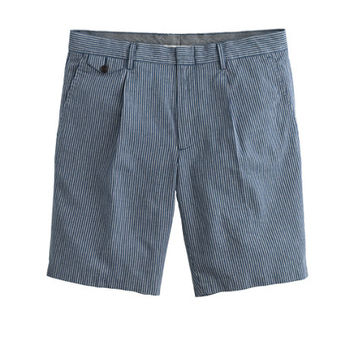 J.Crew Mens Japanese Indigo Ticket-Pocket Short