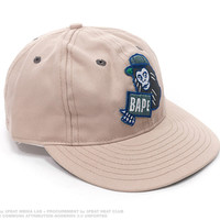 Heat Club - Ape Character Bape Sign Snapback by A Bathing Ape x Ebbets Field - Get cold cash for hard heat!