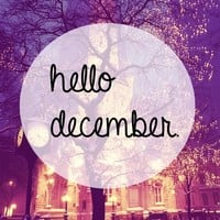 DEAR GOD ITS ALREADY DECEMBER WAT