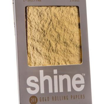 Shine Papers Gold Rolling Papers