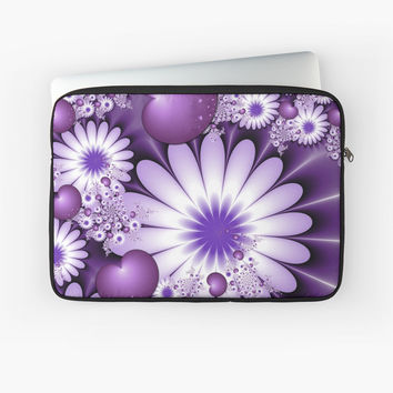 'Falling in Love Fantasy Fractal Art' Laptoptasche by gabiwArt