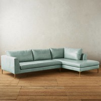 Premium Leather Edlyn Right Sectional