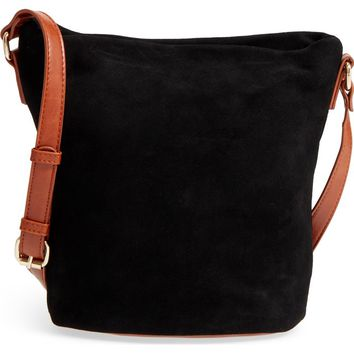 Sole Society Lana Slouchy Suede Crossbody Bag | Nordstrom