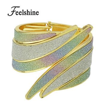 Bracelets Pulseiras New 2016 Chinese Traditional Design Rhinestone Cuff Bracelets Bangles For Women Gifts Jewelry