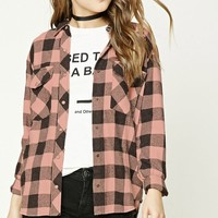 Distressed Buffalo Plaid Shirt