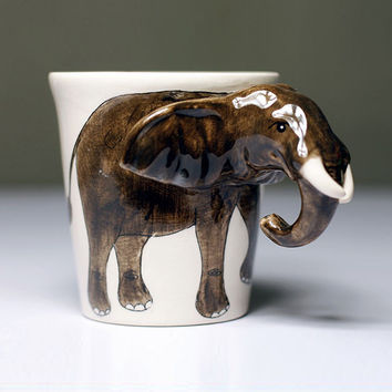 Handcrafted Animal Mugs