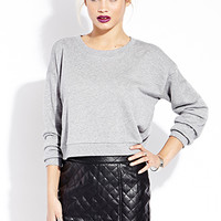 FOREVER 21 Iconic Quilted Mini Skirt Black