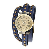 Bling Jewelry Retro Rivet Watch