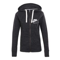 NIKE Women Sport Casual Long Sleeve Cardigan Jacket Coat