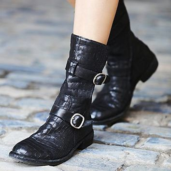 Officine Creative Womens Tempest Croc Boot