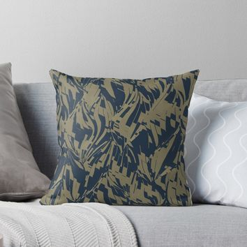 'Abstract BG' Throw Pillow by Creative BD
