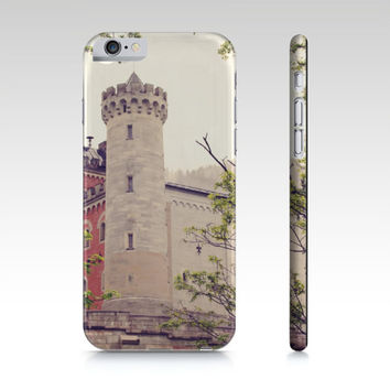 Castle Phone Case - iPhone 5 5S 6 6S - Earth Tones Phone Cover - iPad Mini Case - Samsung Galaxy S4 S5 - German Castle Photo