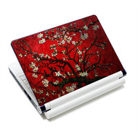 "Red Cherry tree 12"" 12.6"" 13"" 13.3"" 14"" 14.1"" 14.4"" 15"" 15.4"" Notebook Laptop Skin Netbook Sticker Cover Decel"
