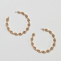 Monki Twist Hoop Earring at asos.com