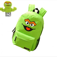 Dropship Anime Printing Canvas Emoji Backpacks