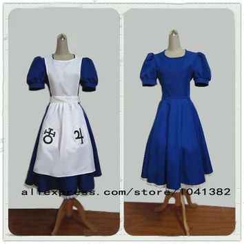 LMFUS4 Alice Madness Returns Costumes cosplay for women sexy halloween costumes for women tailored high quality free shipping