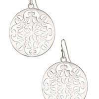 Feather Weight Sterling Silver Disc Earrings | Celia Earrings | Stella & Dot