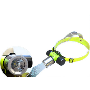 800 Lumens CREE LED Waterproof Diving Headlamp