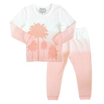 Coccoli Baby Girls' Feather Pajamas